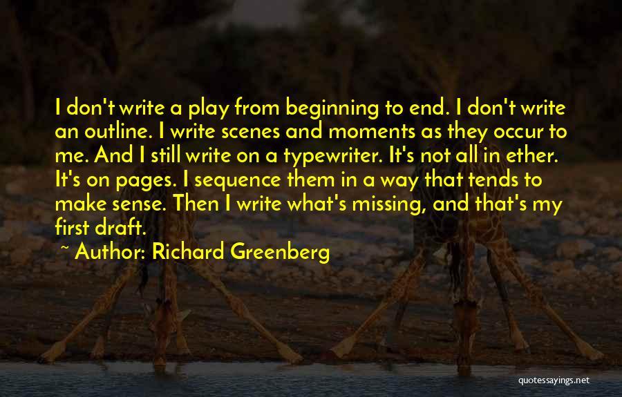 Richard Greenberg Quotes 715156