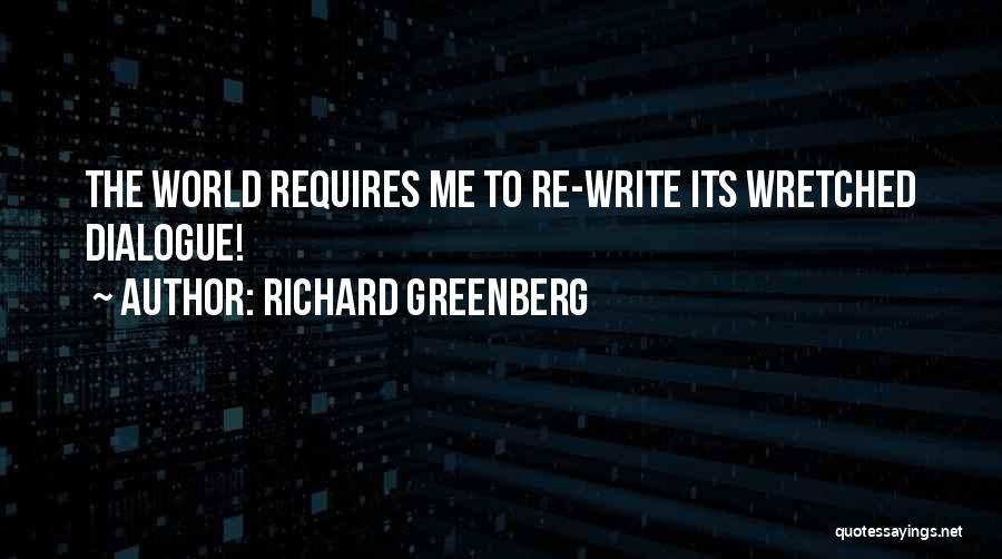 Richard Greenberg Quotes 781177