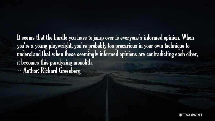 Richard Greenberg Quotes 89167