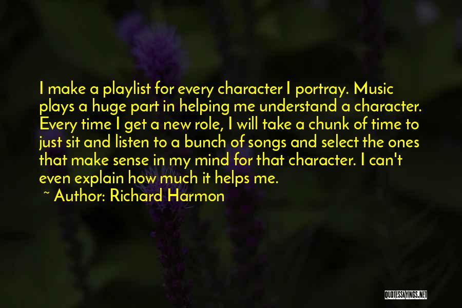 Richard Harmon Quotes 1005959