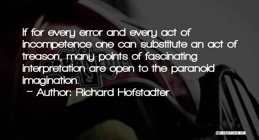 Richard Hofstadter Quotes 130366