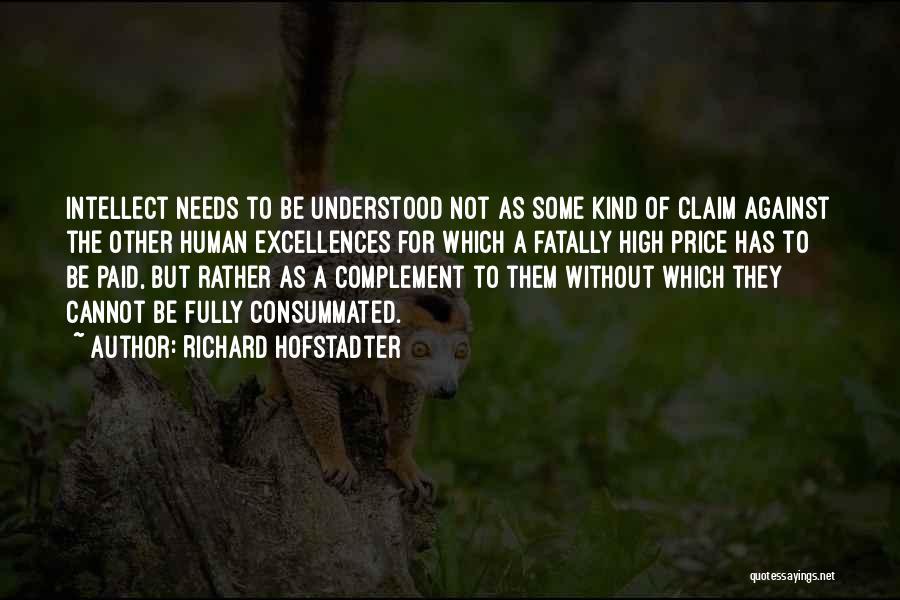 Richard Hofstadter Quotes 962128