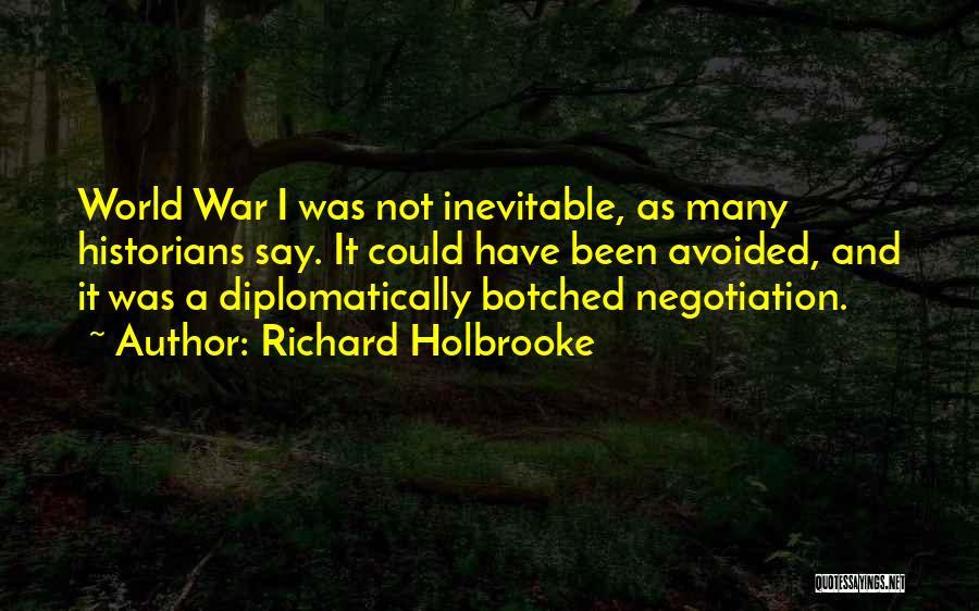 Richard Holbrooke Quotes 272396