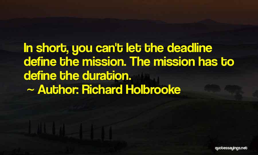 Richard Holbrooke Quotes 285274