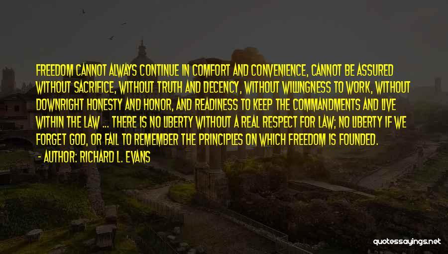 Richard L. Evans Quotes 1768796