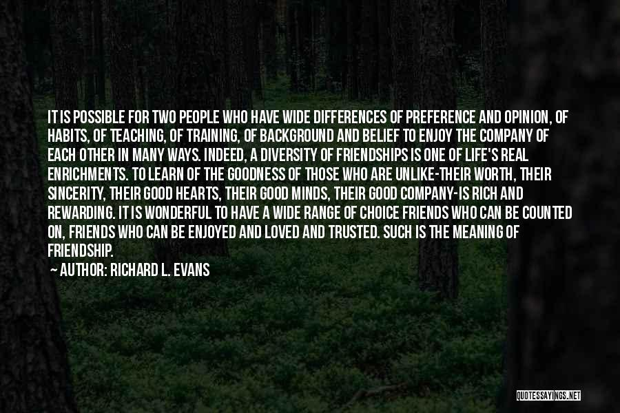 Richard L. Evans Quotes 1973133