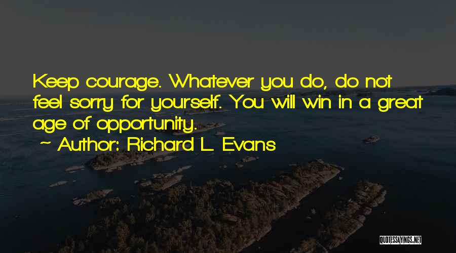 Richard L. Evans Quotes 966662
