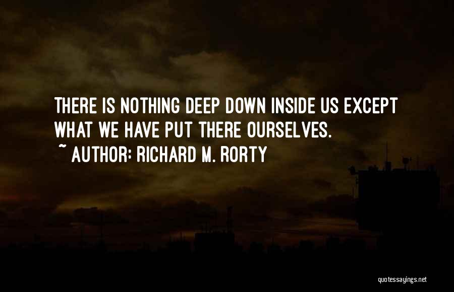 Richard M. Rorty Quotes 1720903