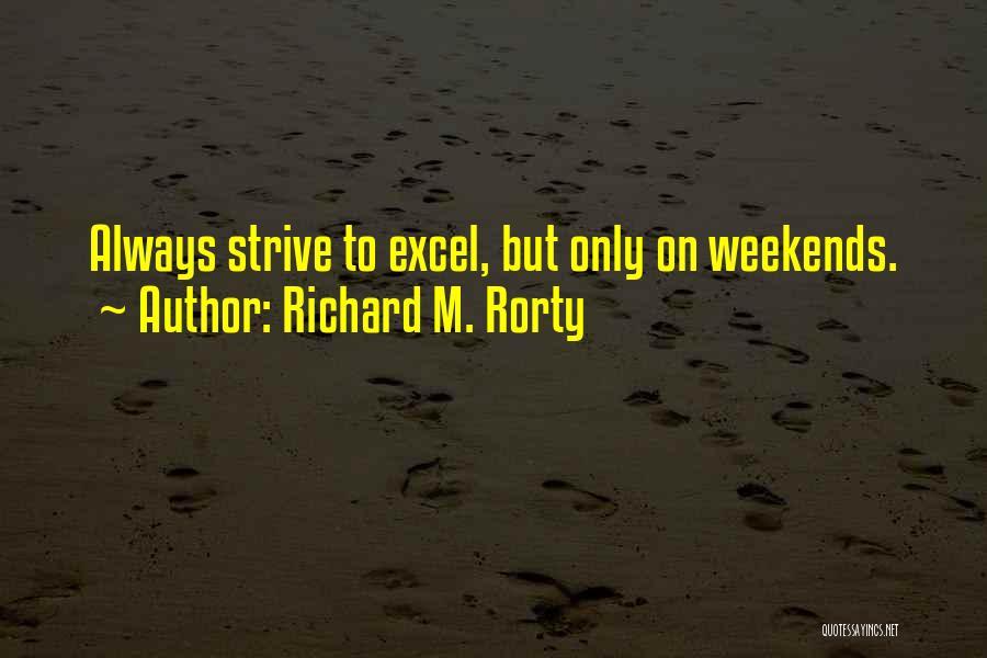 Richard M. Rorty Quotes 273216