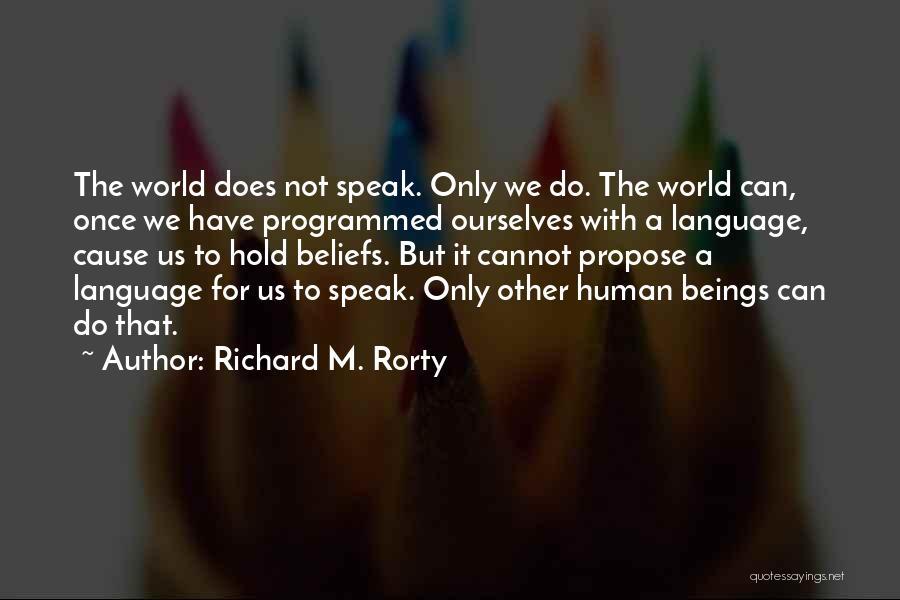 Richard M. Rorty Quotes 456145