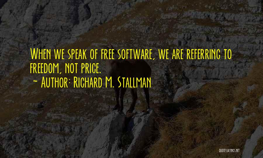 Richard M. Stallman Quotes 494334