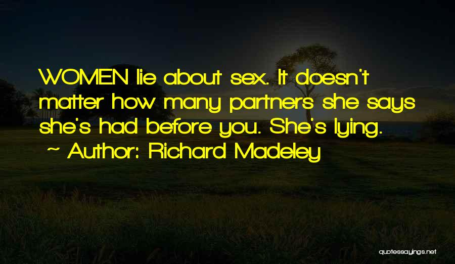 Richard Madeley Quotes 927966