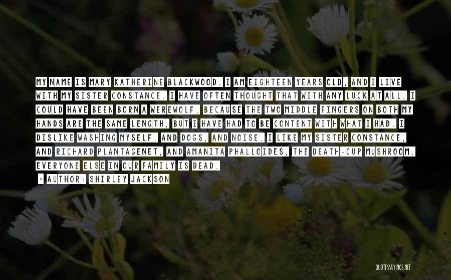 Richard Plantagenet Quotes By Shirley Jackson