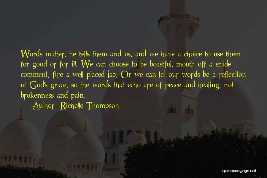 Richelle Thompson Quotes 2192920