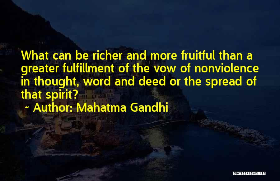 Richer Quotes By Mahatma Gandhi