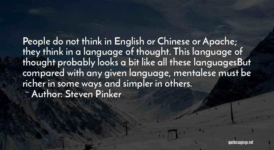 Richer Quotes By Steven Pinker