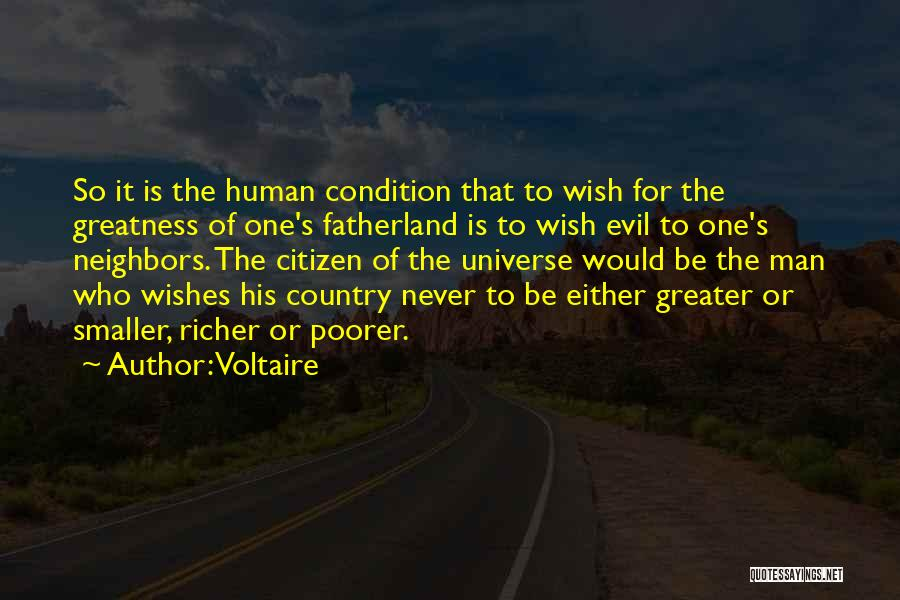Richer Quotes By Voltaire
