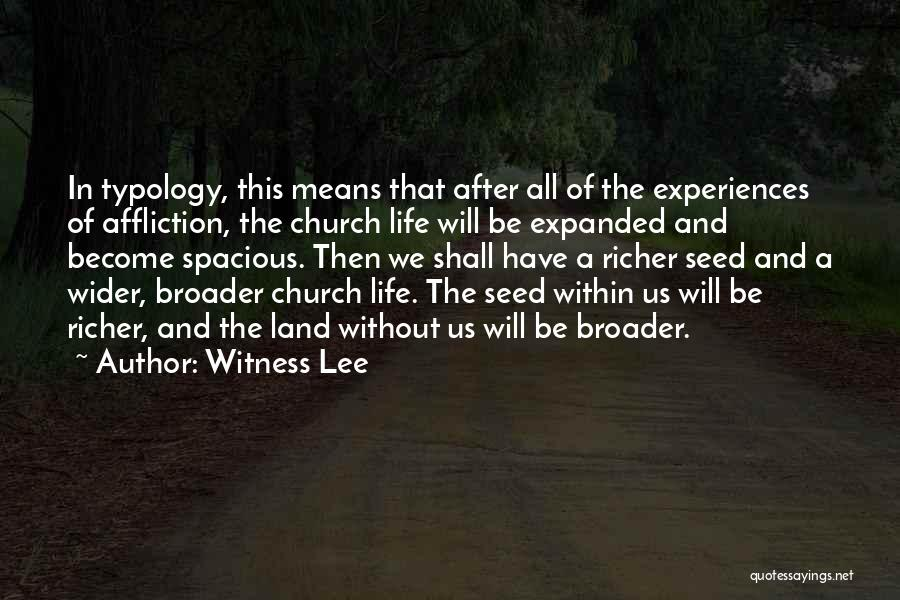 Richer Quotes By Witness Lee