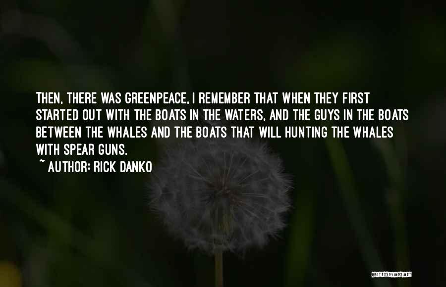 Rick Danko Quotes 1345982