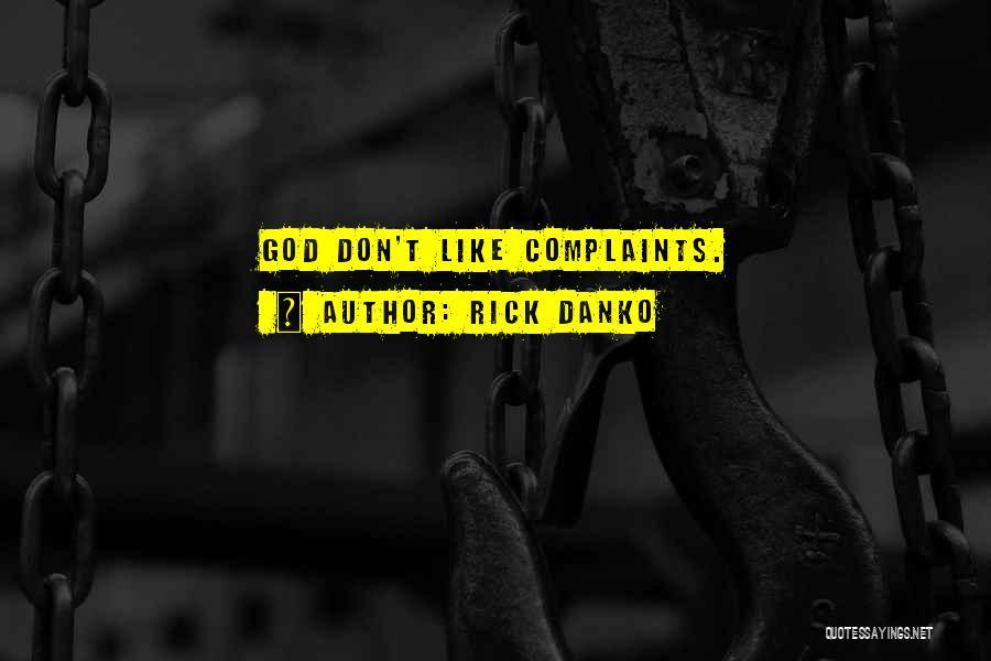 Rick Danko Quotes 478057