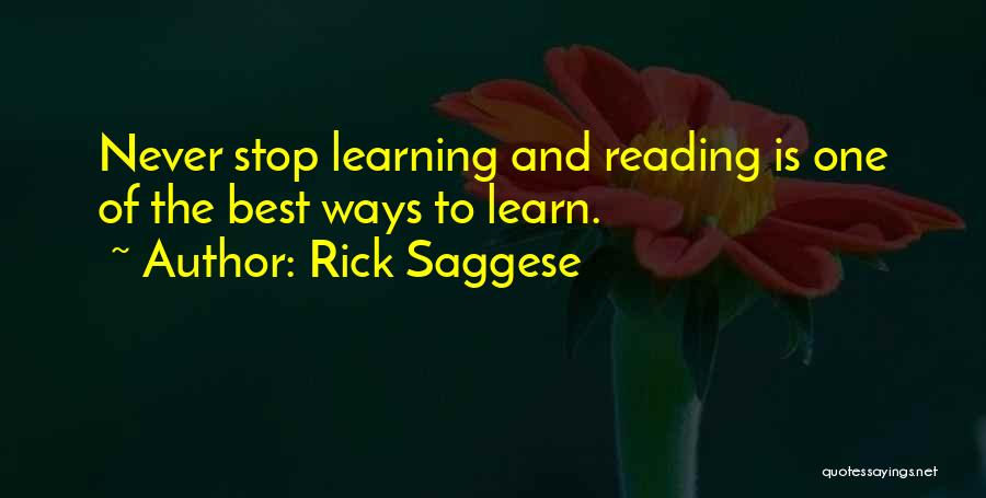 Rick Saggese Quotes 1510929