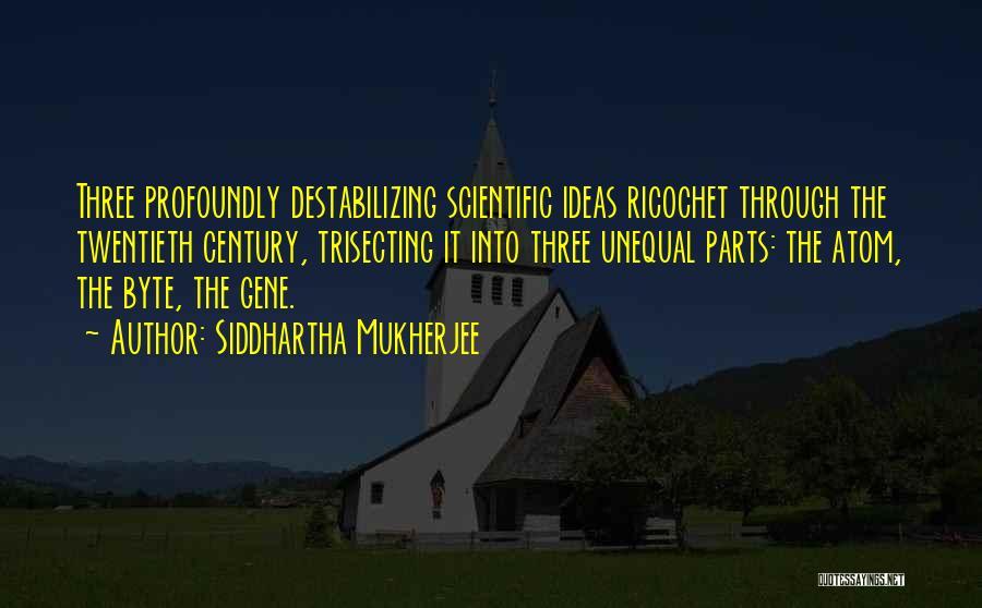 Ricochet Quotes By Siddhartha Mukherjee