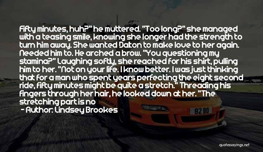 Ride To Hell Quotes By Lindsey Brookes