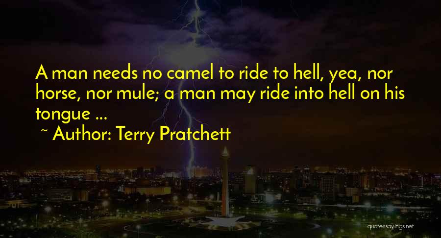 Ride To Hell Quotes By Terry Pratchett