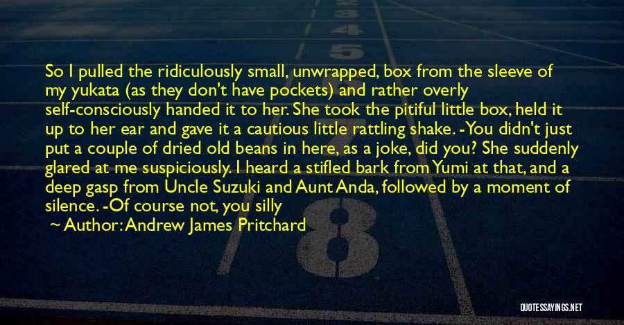 Ridiculously Silly Quotes By Andrew James Pritchard