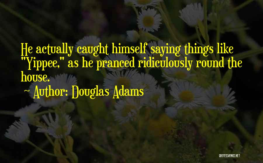 Ridiculously Silly Quotes By Douglas Adams