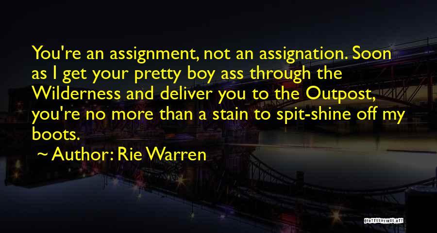 Rie Warren Quotes 319036