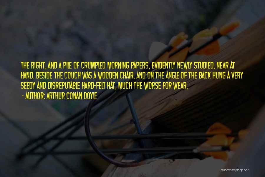 Right Angle Quotes By Arthur Conan Doyle