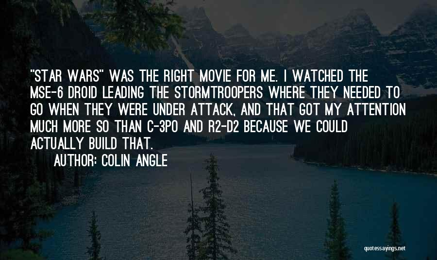 Right Angle Quotes By Colin Angle