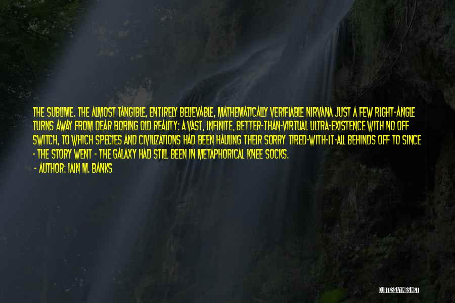 Right Angle Quotes By Iain M. Banks