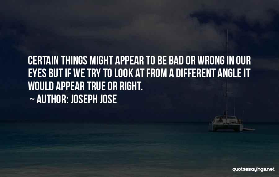 Right Angle Quotes By Joseph Jose