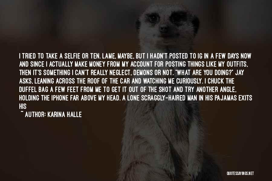 Right Angle Quotes By Karina Halle