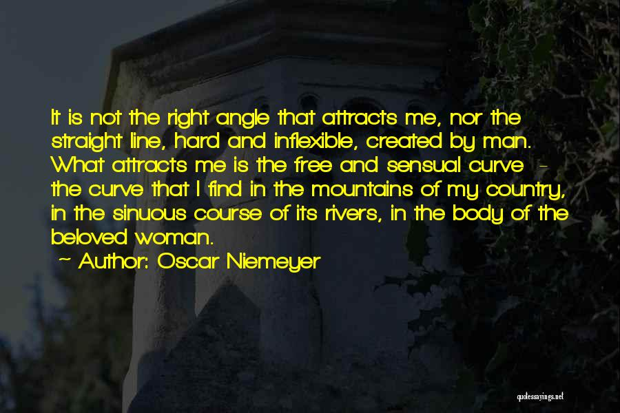 Right Angle Quotes By Oscar Niemeyer