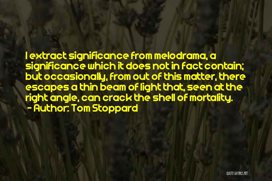 Right Angle Quotes By Tom Stoppard