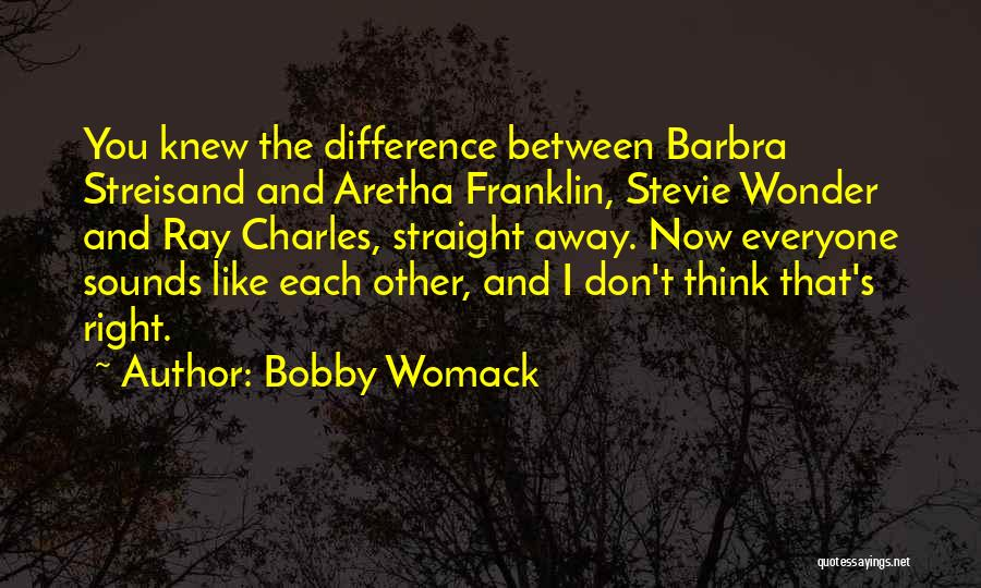 Right Now Quotes By Bobby Womack
