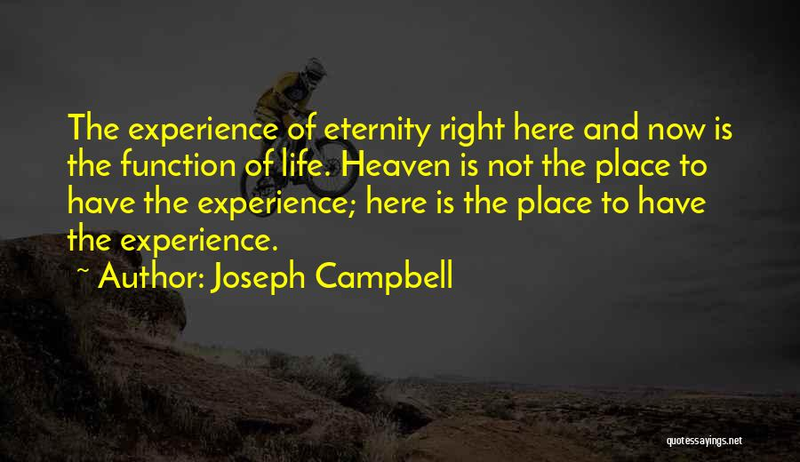 Right Now Quotes By Joseph Campbell