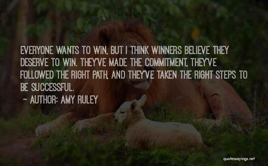 Right Path Quotes By Amy Ruley