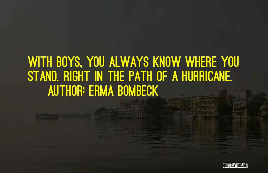 Right Path Quotes By Erma Bombeck