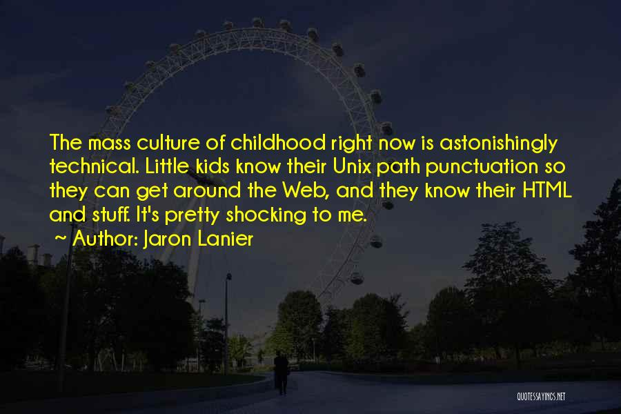Right Path Quotes By Jaron Lanier