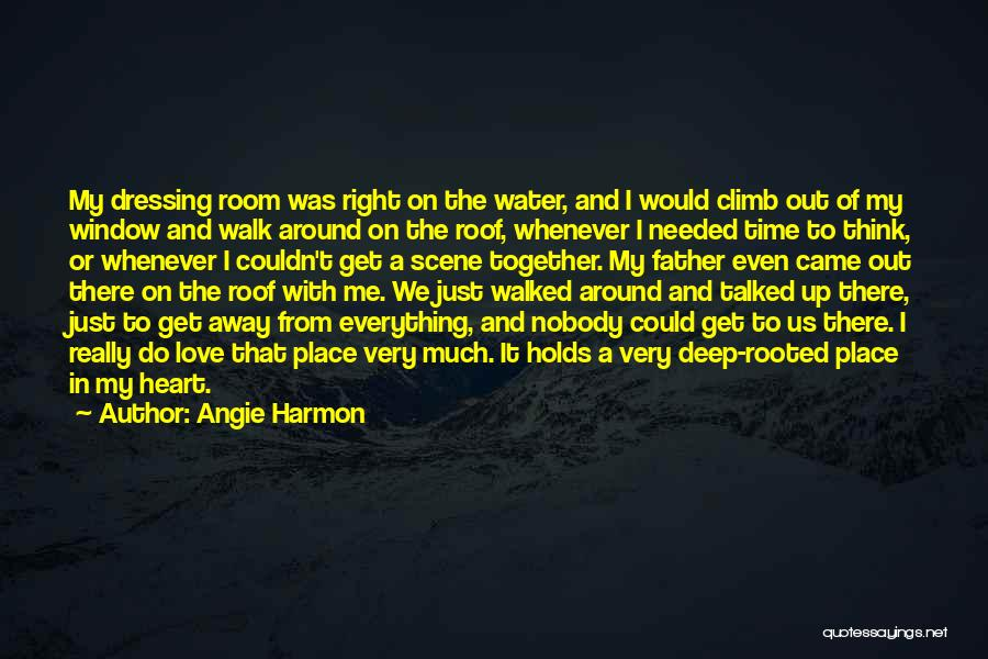 Right Place Right Time Love Quotes By Angie Harmon