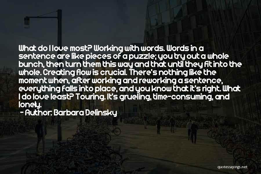 Right Place Right Time Love Quotes By Barbara Delinsky
