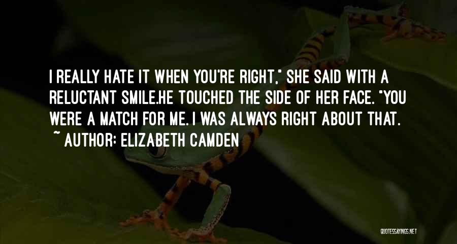 Right Side Quotes By Elizabeth Camden