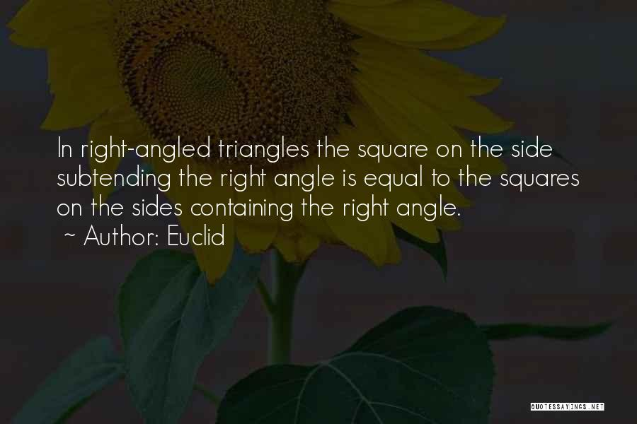Right Side Quotes By Euclid