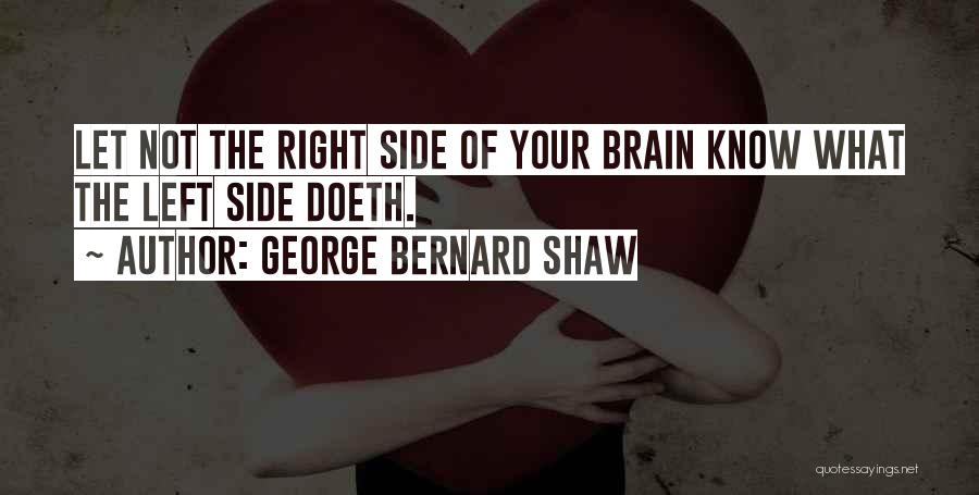 Right Side Quotes By George Bernard Shaw