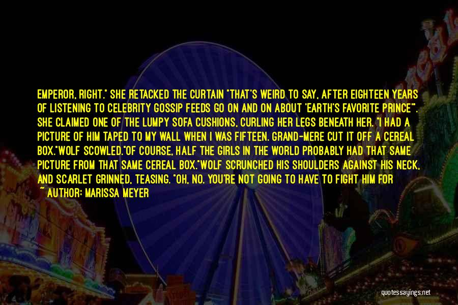 Right Side Quotes By Marissa Meyer