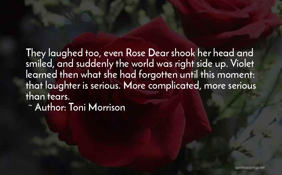 Right Side Quotes By Toni Morrison